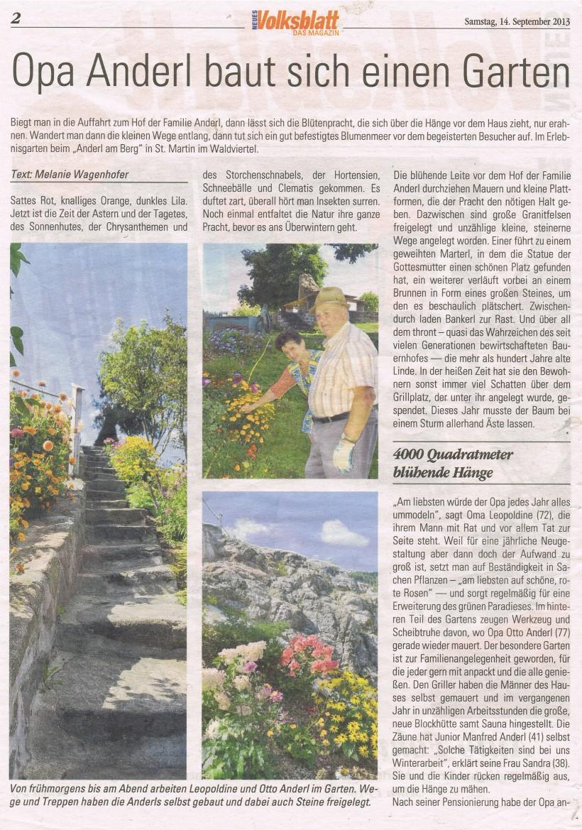 Reportage Volksblatt 1